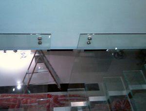 balustrady szklane